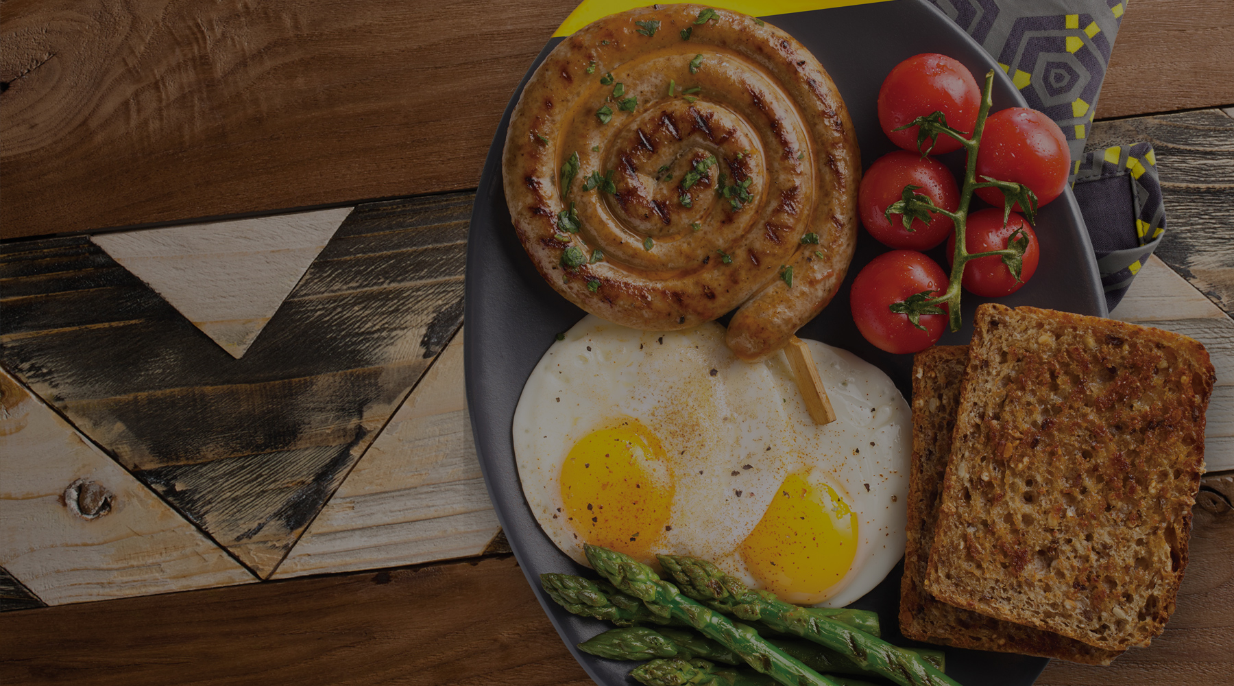 Breakfast at Nando's