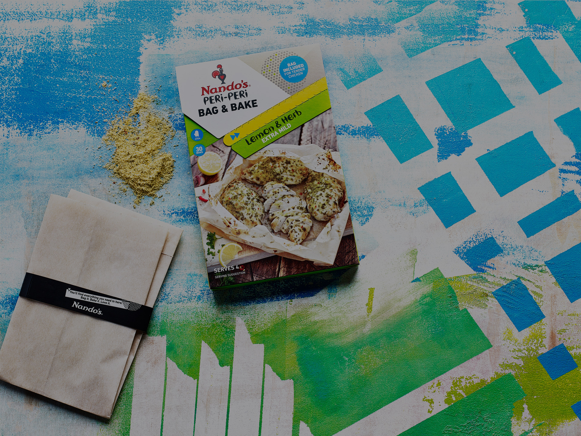 Lemon & Herb Bag & Bake