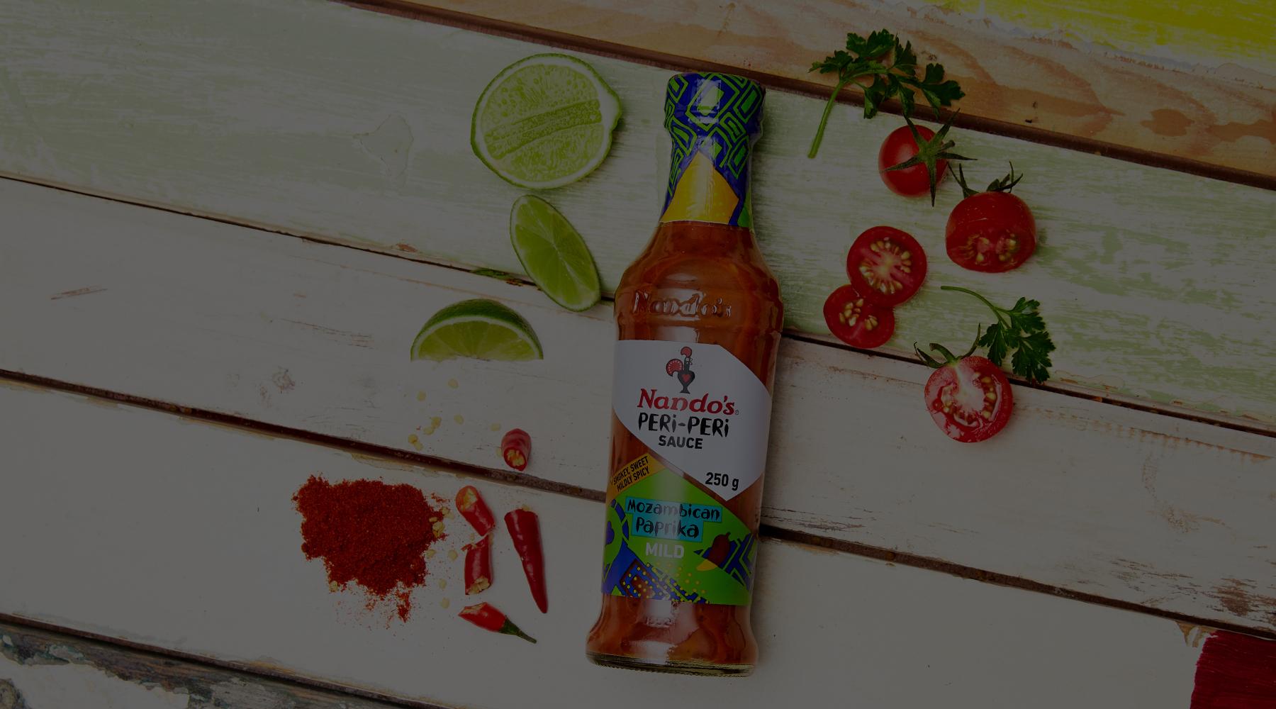 Mozam Paprika PERi-PERi Sauce