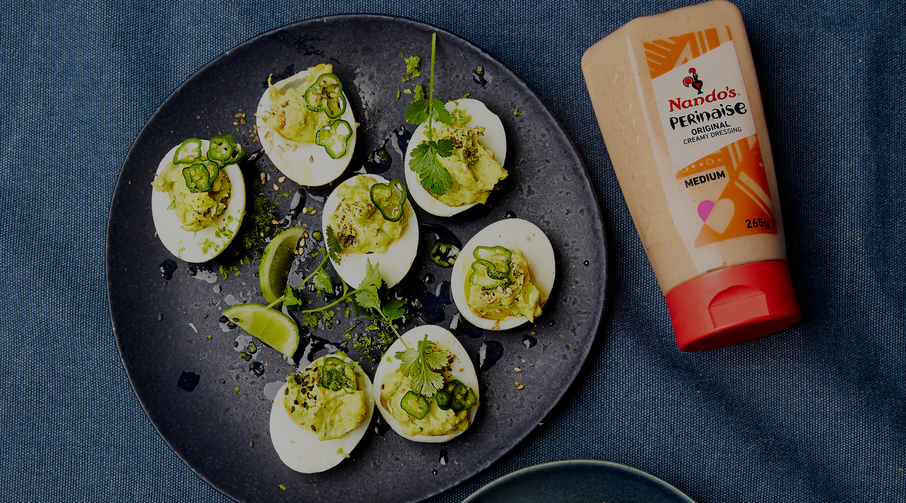 Spicy Devilled Eggs