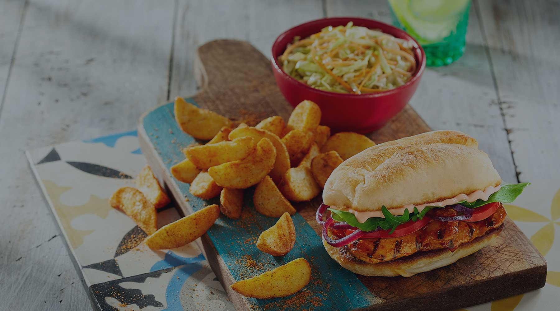 Burgers, Pitas, Wraps - Veggie PERi-dise