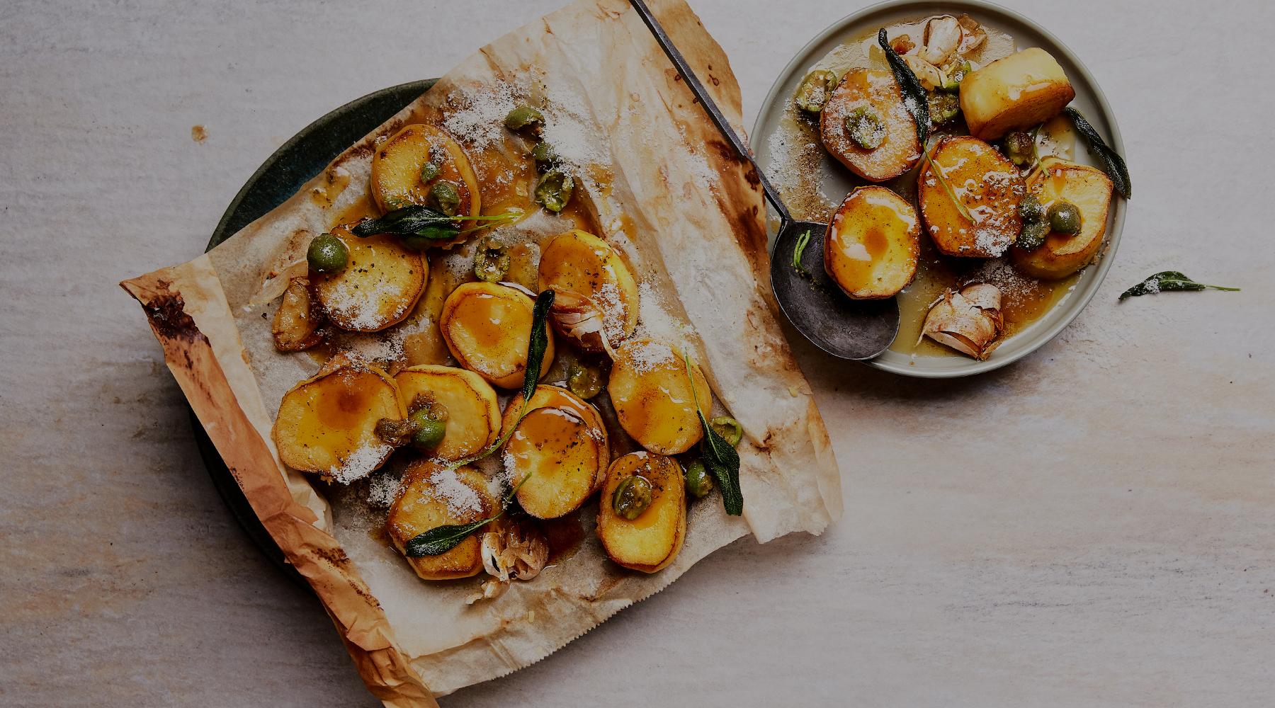 Garlic Melting Potato Fondants