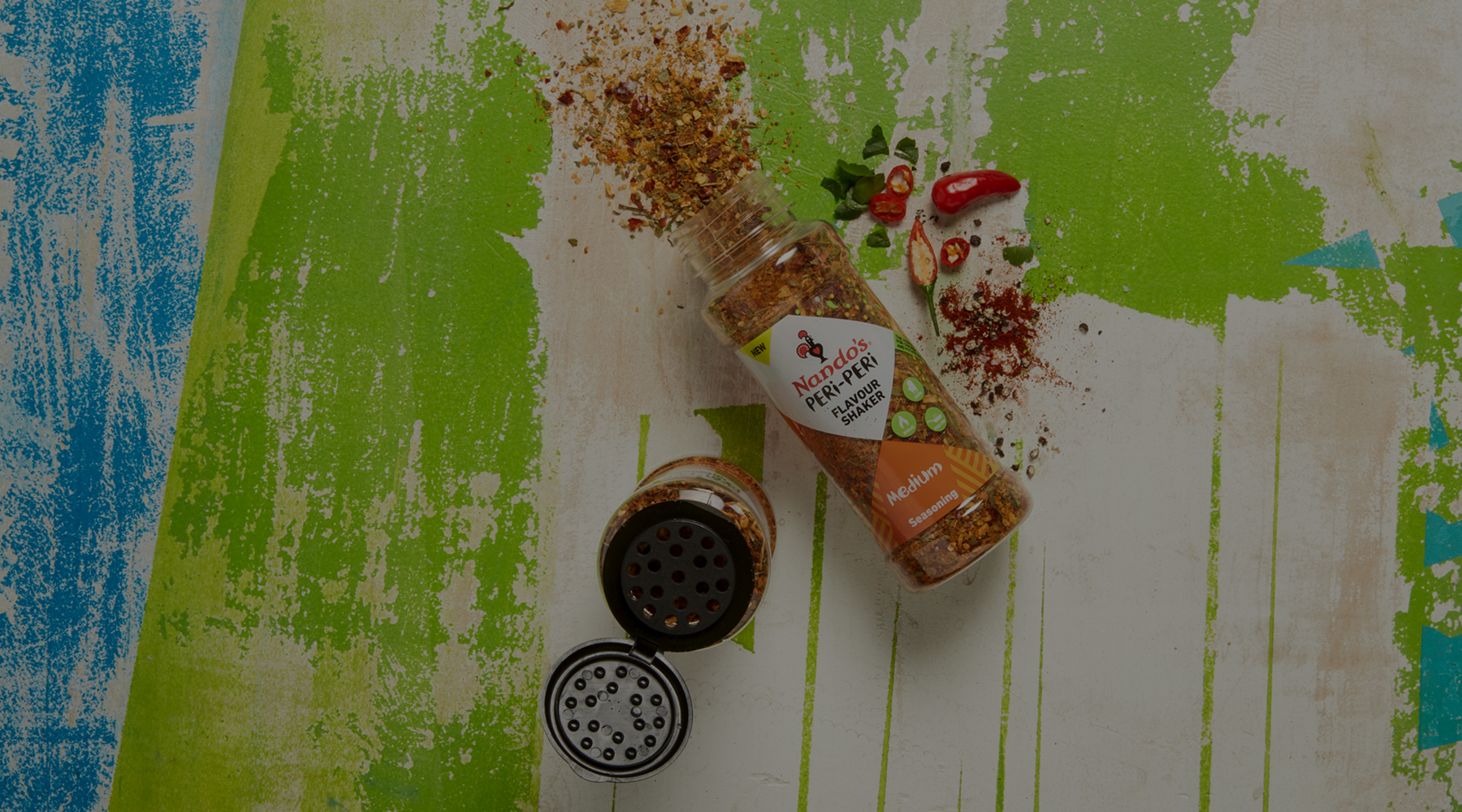 Flavour Shaker Medium Seasoning