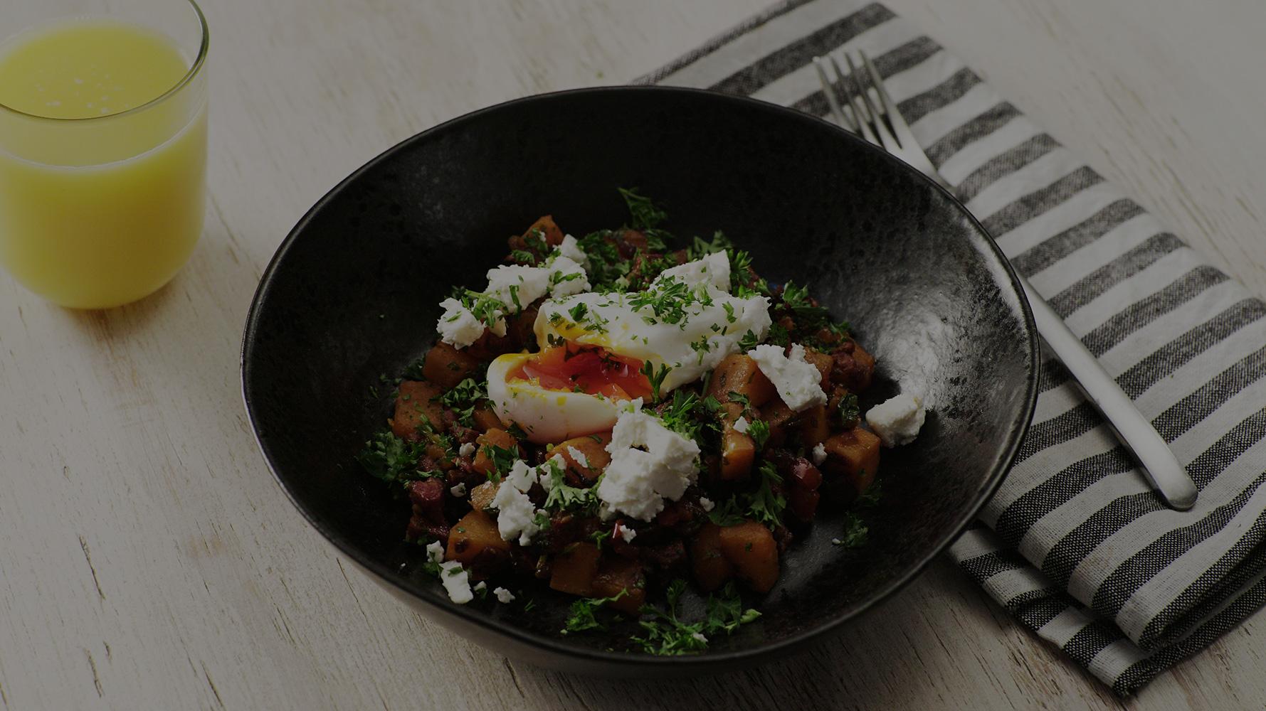 Chorizo & Sweet Potato PERi-PERi Hash