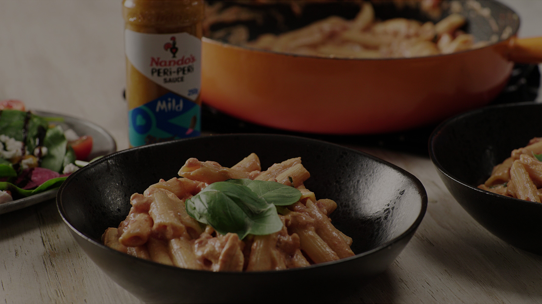 Creamy PERi-PERi Chicken Pasta