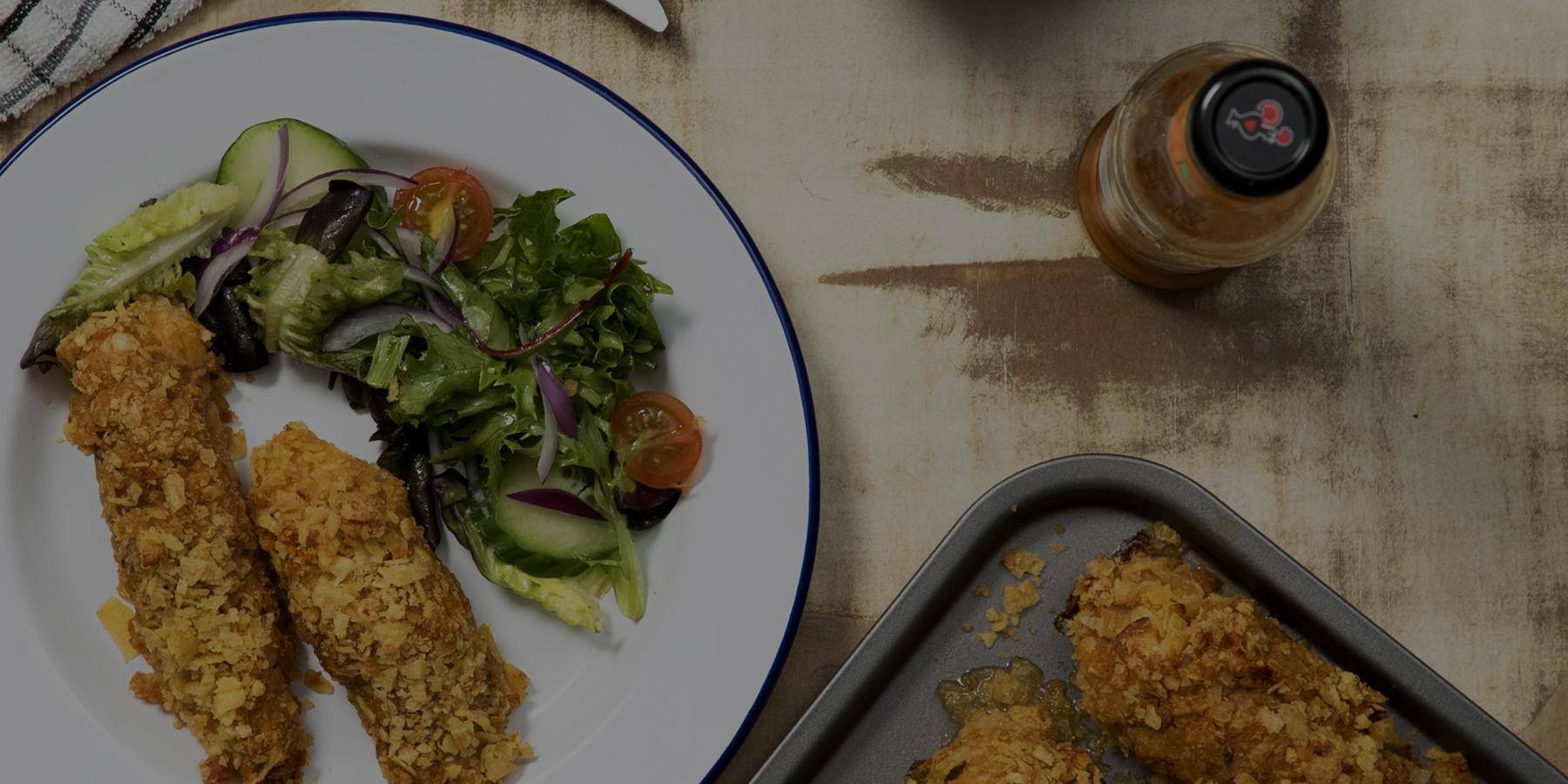 Crispy PERi-Parma Chicken